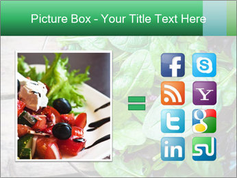 Fresh green salad PowerPoint Templates - Slide 21