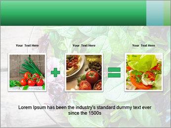 Fresh green salad PowerPoint Templates - Slide 22