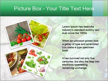 Fresh green salad PowerPoint Templates - Slide 23