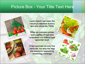 Fresh green salad PowerPoint Templates - Slide 24