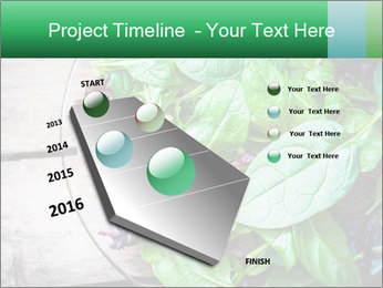 Fresh green salad PowerPoint Templates - Slide 26