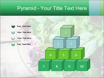 Fresh green salad PowerPoint Templates - Slide 31