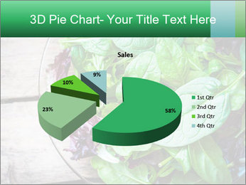 Fresh green salad PowerPoint Templates - Slide 35