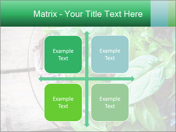Fresh green salad PowerPoint Templates - Slide 37