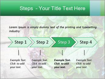 Fresh green salad PowerPoint Templates - Slide 4