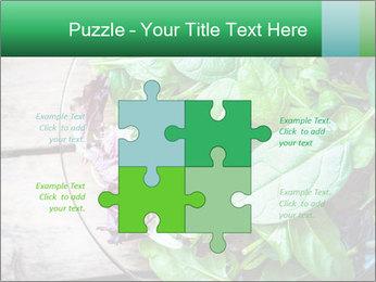Fresh green salad PowerPoint Templates - Slide 43