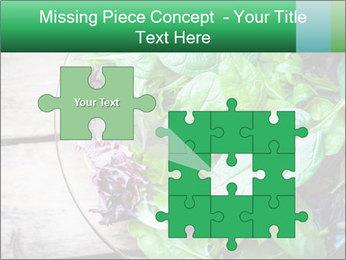 Fresh green salad PowerPoint Templates - Slide 45