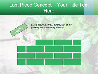 Fresh green salad PowerPoint Templates - Slide 46