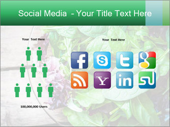 Fresh green salad PowerPoint Templates - Slide 5