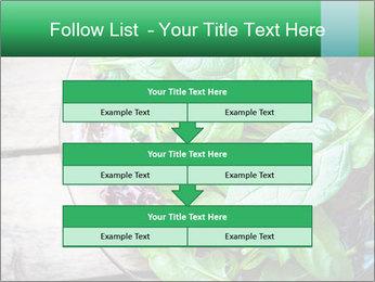 Fresh green salad PowerPoint Templates - Slide 60