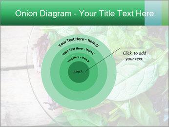 Fresh green salad PowerPoint Template - Slide 61