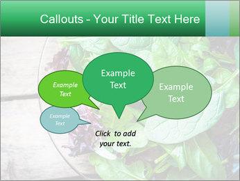 Fresh green salad PowerPoint Template - Slide 73