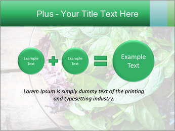 Fresh green salad PowerPoint Templates - Slide 75