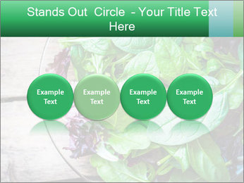 Fresh green salad PowerPoint Templates - Slide 76