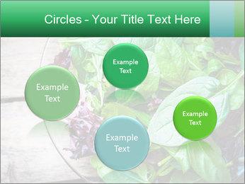 Fresh green salad PowerPoint Template - Slide 77