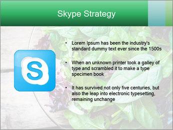 Fresh green salad PowerPoint Templates - Slide 8