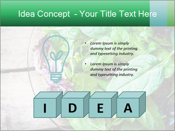 Fresh green salad PowerPoint Templates - Slide 80