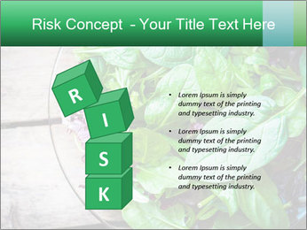 Fresh green salad PowerPoint Templates - Slide 81