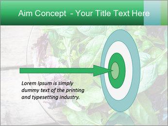 Fresh green salad PowerPoint Templates - Slide 83