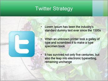 Fresh green salad PowerPoint Templates - Slide 9