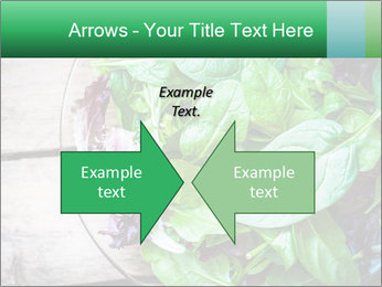 Fresh green salad PowerPoint Templates - Slide 90