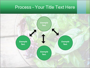 Fresh green salad PowerPoint Templates - Slide 91