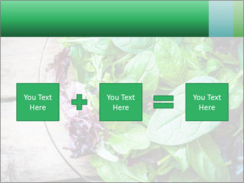 Fresh green salad PowerPoint Templates - Slide 95