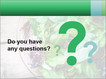 Fresh green salad PowerPoint Templates - Slide 96