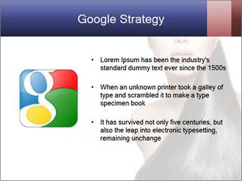 Beauty Brunette Fashion Model PowerPoint Template - Slide 10
