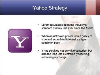 Beauty Brunette Fashion Model PowerPoint Template - Slide 11