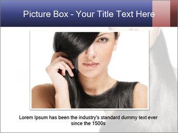 Beauty Brunette Fashion Model PowerPoint Template - Slide 16