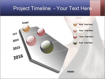 Beauty Brunette Fashion Model PowerPoint Template - Slide 26