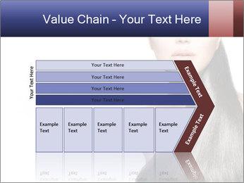 Beauty Brunette Fashion Model PowerPoint Template - Slide 27