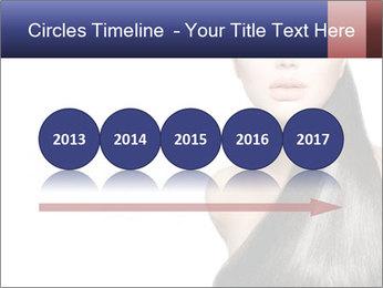 Beauty Brunette Fashion Model PowerPoint Template - Slide 29