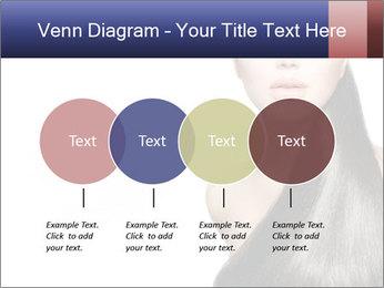 Beauty Brunette Fashion Model PowerPoint Template - Slide 32