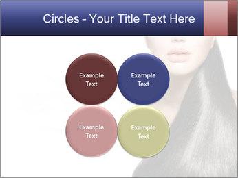 Beauty Brunette Fashion Model PowerPoint Template - Slide 38