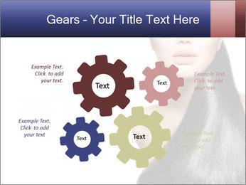 Beauty Brunette Fashion Model PowerPoint Template - Slide 47