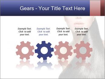 Beauty Brunette Fashion Model PowerPoint Template - Slide 48