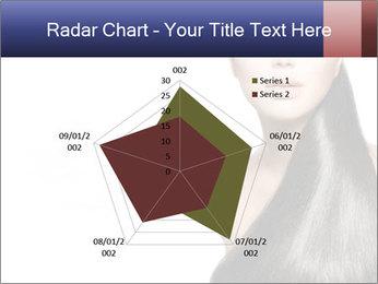 Beauty Brunette Fashion Model PowerPoint Template - Slide 51