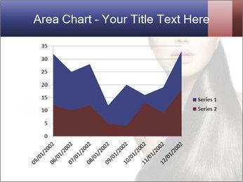 Beauty Brunette Fashion Model PowerPoint Template - Slide 53