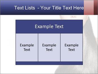 Beauty Brunette Fashion Model PowerPoint Template - Slide 59