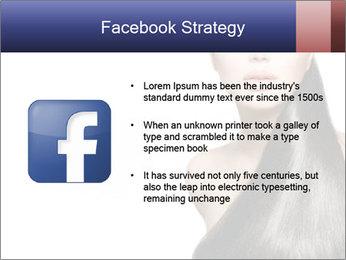 Beauty Brunette Fashion Model PowerPoint Template - Slide 6