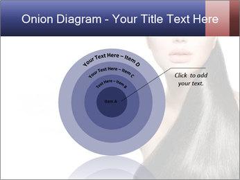 Beauty Brunette Fashion Model PowerPoint Template - Slide 61