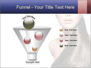Beauty Brunette Fashion Model PowerPoint Template - Slide 63