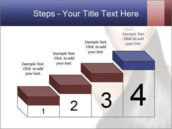 Beauty Brunette Fashion Model PowerPoint Template - Slide 64