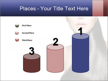 Beauty Brunette Fashion Model PowerPoint Template - Slide 65
