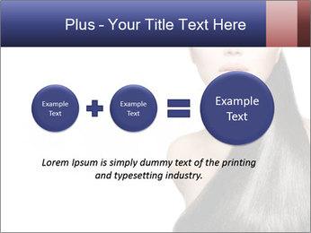 Beauty Brunette Fashion Model PowerPoint Template - Slide 75