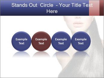 Beauty Brunette Fashion Model PowerPoint Template - Slide 76