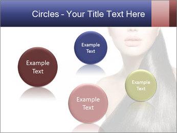 Beauty Brunette Fashion Model PowerPoint Template - Slide 77