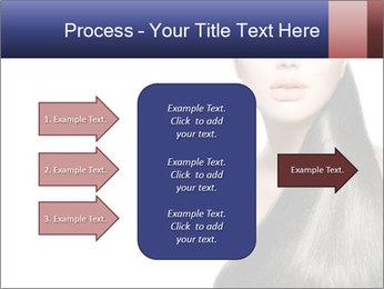 Beauty Brunette Fashion Model PowerPoint Template - Slide 85
